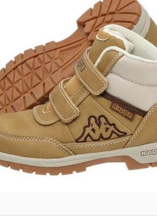 Деми ботинки kappa 21,5 см