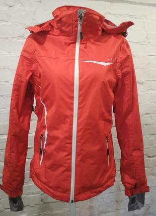 Яркая лыжная куртка crivit, евроразмер 38. замеры указаны на фото.