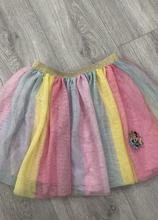 Красивая праздничная юбка c&a ‼️дефект‼️