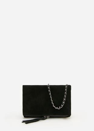 Кожаная сумка через плечо reserved