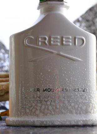 Creed silver mountain water 2 мл оригинал затест распив и отливанты аромата