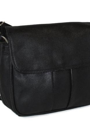Трендовая сумка кроссбоди, натуральная кожа.