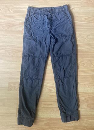 Утеплені штани на підкладці gymboree
