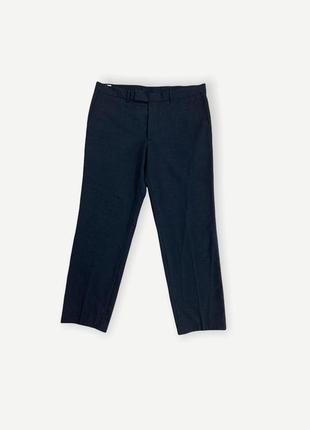 Классические штаны брюки hugo boss мужские чорные