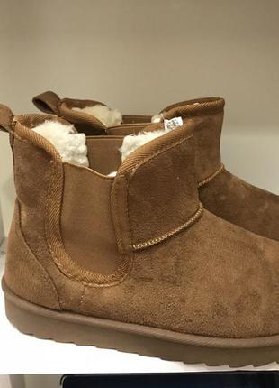 Короткі зимові чобітки 550грн