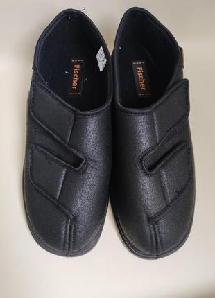 42 o. fischer туфли ботинки диабетические ортопедические на широкую ногу