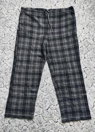 Теплі домашні штани фліс р.l-xl