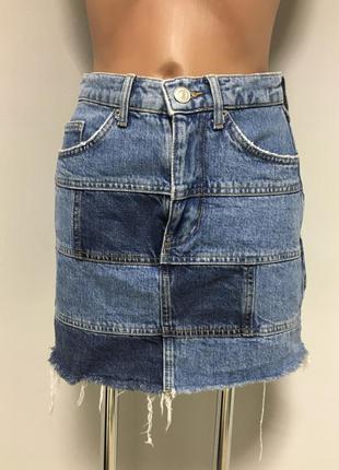 Джинсовая юбка очень стильная и качественная