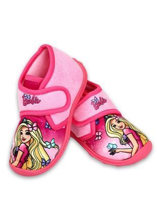 Тапочки barbie для дівчинки disney