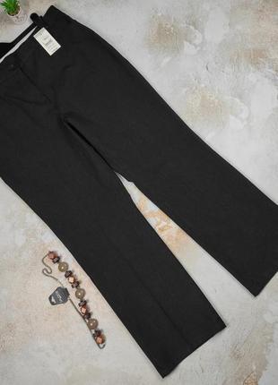 Штаны брюки серые красивые плотные большого размера marks&spencer uk 20/48/3xl