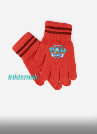 Перчатки primark paw patrol