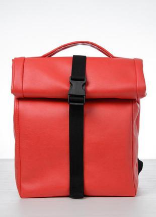 Мега стильный красный ролл топ для путешествий, прогулок и активного образа жизни