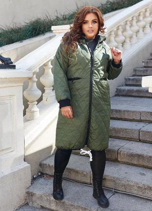 Куртка plus size