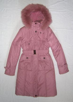 Зимнее пальто пуховик куртка donilo курточка