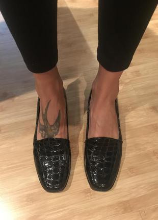 Туфли лак кожа