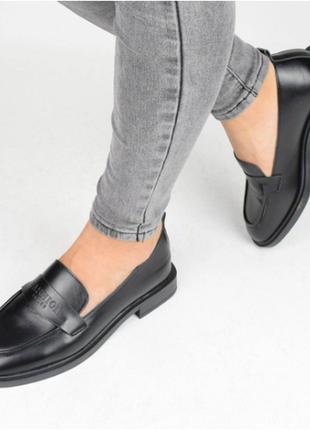 Туфли женские черные (336981) / 100846