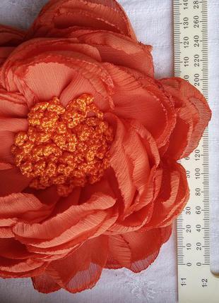 Брошь цветок большая