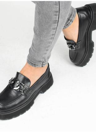 Туфли женские черные (337148) / 100851
