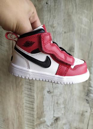 Кожаные кроссовки nike air jordan