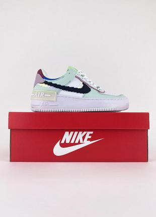 Nike air force shadow 🍏 женские кроссовки найк форси шадов