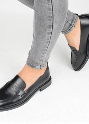Туфли женские черные (336981) / 100862