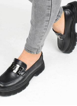 Туфли женские черные (337147) / 100866