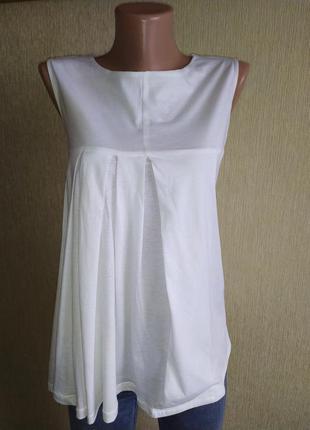 Прекрасная фирменная блуза топ, р.38
