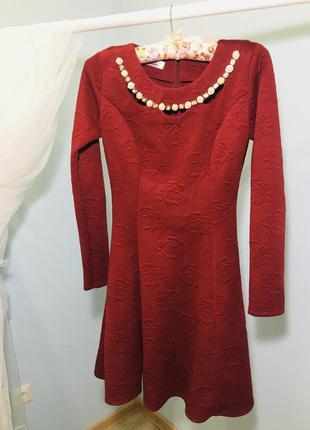 Теплое платье плаття тепле