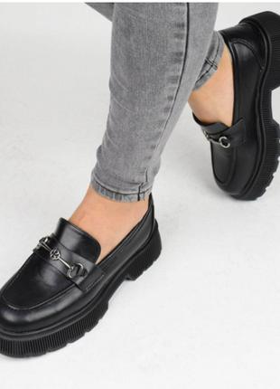 Туфли женские черные (337152) / 100876