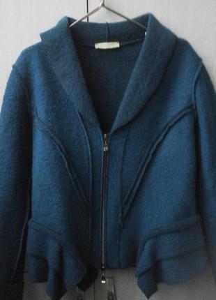 Шерстяной оригинальный жакет, пиджак. блейзер mongul