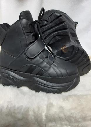 Ботинки  венгрия  зима термо