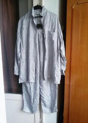 Шелковая пижама 100% шелк / люкс бренд desiree