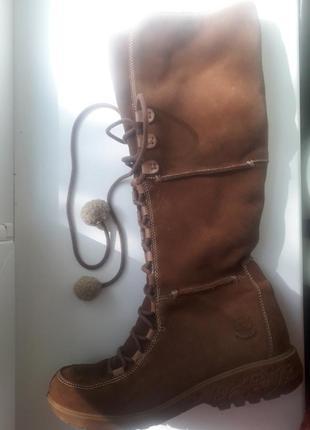 Ботинки сапожки берцы на высокой шнуровке