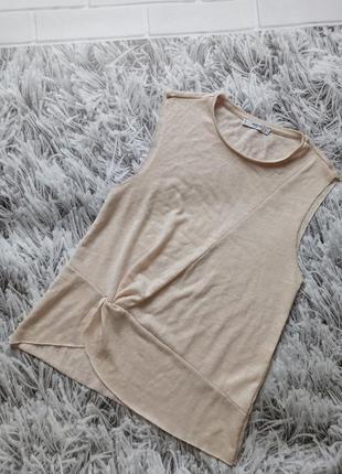 Женская блуза mango нюд, женская блуза нюд