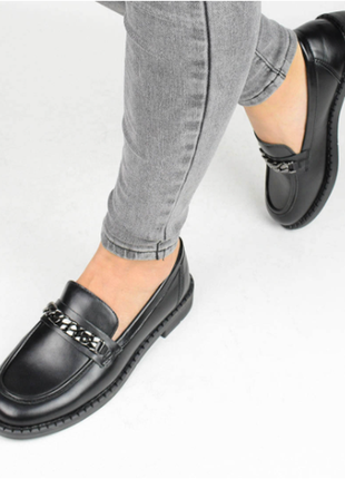 Туфли женские черные (337003) / 100878