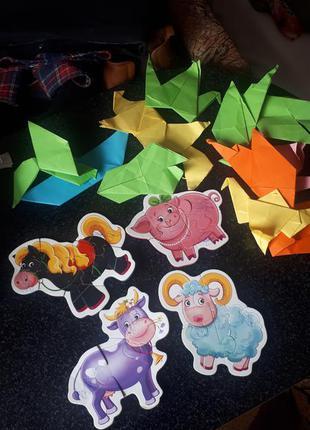 Паззлы и оригами