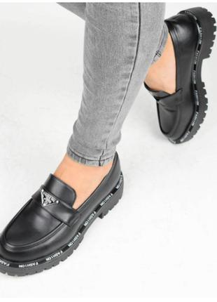 Туфли женские черные (337087) / 100888