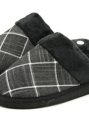 Тапочки мужские черный размеры: 41-42, 43-44, 45-46