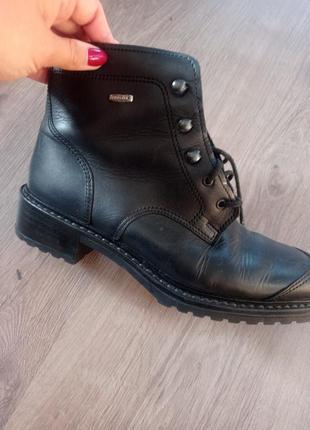 Женские ботинки, зима осень , натуральная кожа