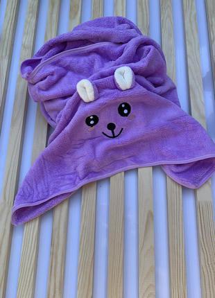 Дитячий рушник з мікрофібри