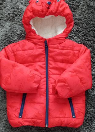 Стильна куртка єврозима р92-98 нова