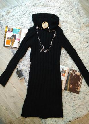 Французкое тепленькое платье