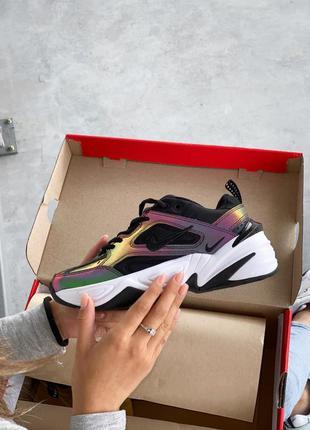 Шикарные женские кроссовки nike m2k tekno найк (36-40р) наложенный платеж