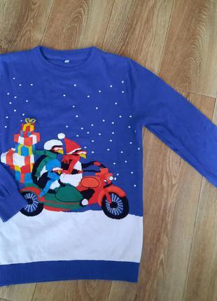 Новый новогодний свитер / джемпер