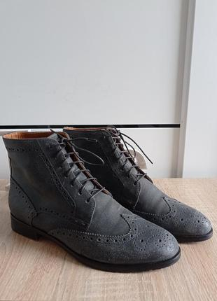 Кожаные ботинки, ботильоны, полусапожки