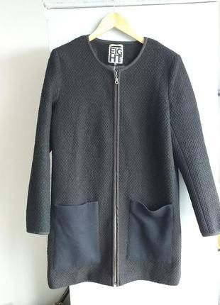 Шикарное пальто на молнии