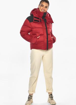 """Красный пуховик куртка xl до -18с немецкого производства braggart """"angel's fluff"""""""