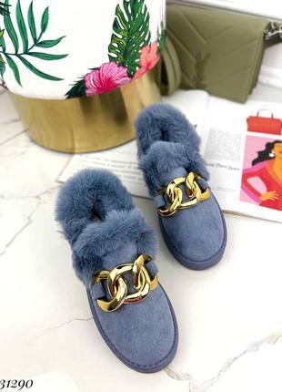 Женские ботинки, замшевые ботинки, ботинки с мехом