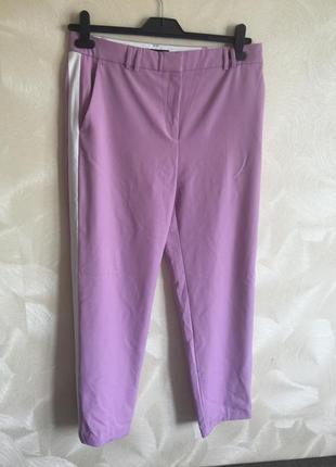 Яркие брюки штаны с лампасами marks&spencer