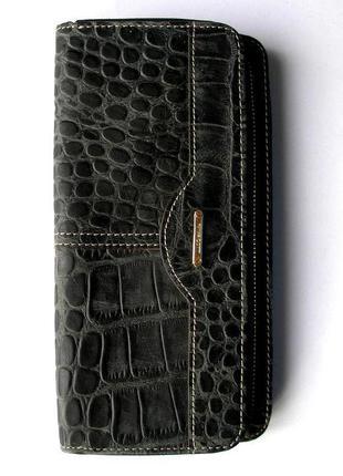 Большой выбор кожаных кошельков на подарок и себе, 100% натур. кожа, доставка бесплатно